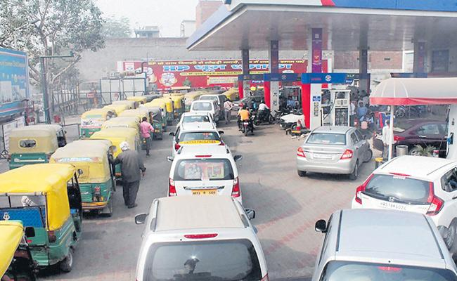 Differences Between Petrol Rates In Neighbouring States - Sakshi