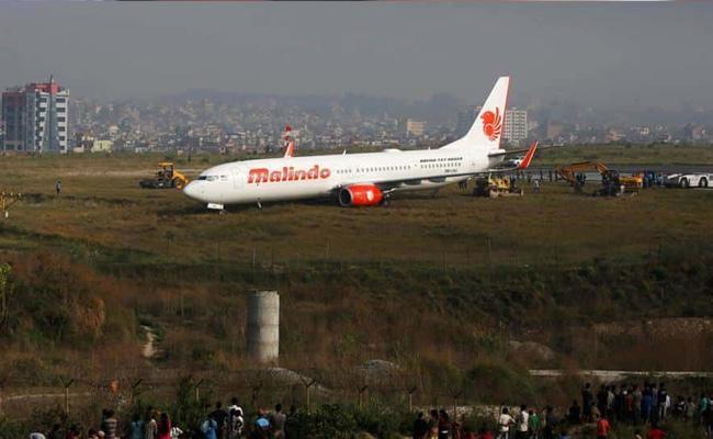 Plane Skids Off Runway In Nepal - Sakshi