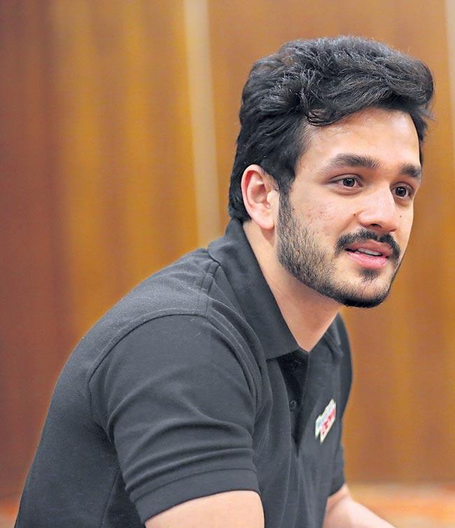 Nidhi Agarwal to romance Akhil - Sakshi