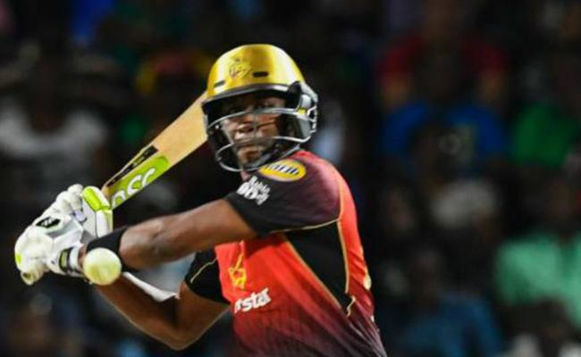 Dwayne Bravo Hits 5 Consecutive Sixes in an Over forTrinbago Knight Riders - Sakshi