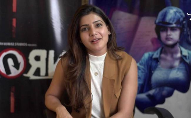 Samantha About U Turn Movie - Sakshi