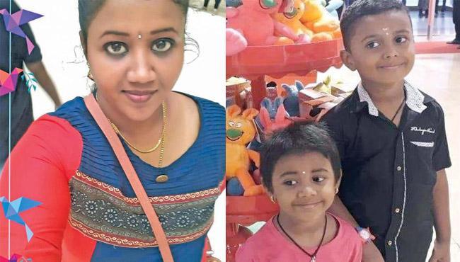 Mother kills kids and elopes with lover - Sakshi