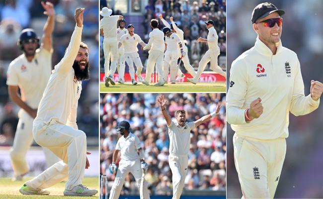 India Lossed Fourth Test Against England - Sakshi