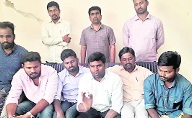 JAC Activists Commented On KCR Pragathi Nivedana Sabha - Sakshi