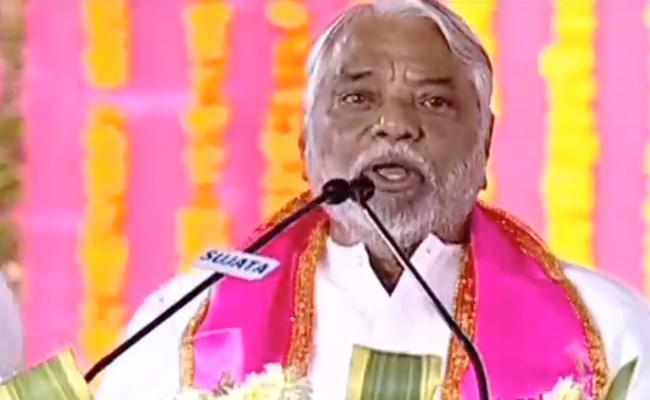 K keshava Rao Comments In Pragathi Nivedhana Sabha - Sakshi
