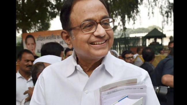 Chidambaram Asked NDA Government To Reveal The Number Of Loans Given By It - Sakshi