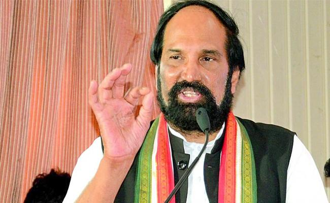 Uttam kumar Reddy Counter To KCR Speech In Pragathi Nivedana Sabha - Sakshi