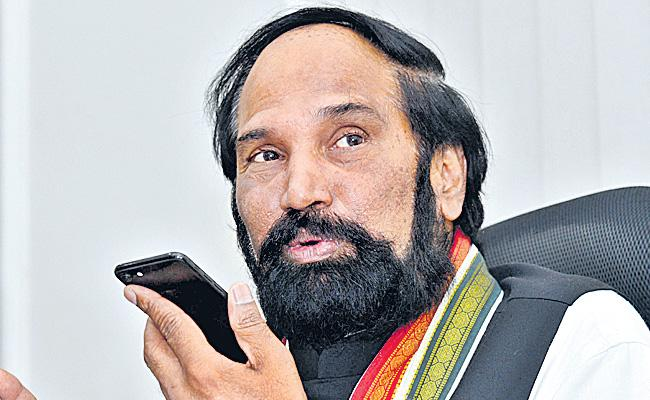 Uttam Kumar Reddy Comments On KCR About Pragathi Nivedana Sabha - Sakshi