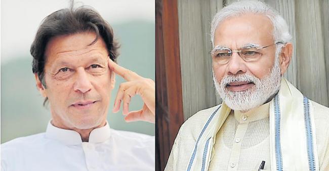 Pakistan PM seeks to resume dialogue on Kashmir and terrorism - Sakshi