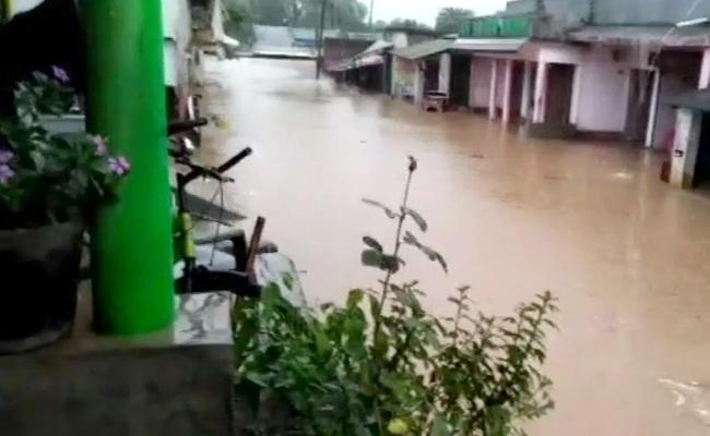 Daye Cyclone Hits North Andhra Pradesh - Sakshi