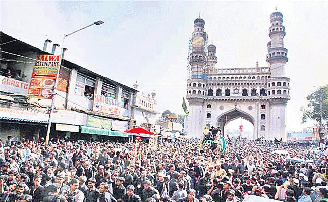 hyderabad old City Ready For Celebrate Muharram - Sakshi