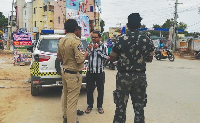 police ChallansTo People In YSR Kadapa - Sakshi