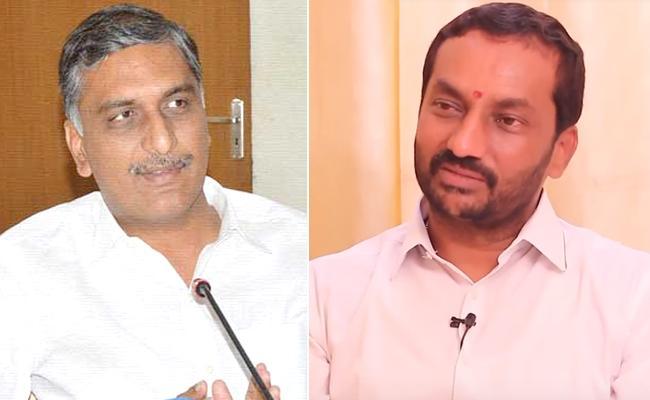 BJP Leader Raghunandan Rao comments on Harishrao - Sakshi