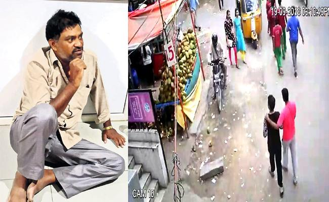 Manoharachary Stolen Knife From Coconut Shop Erragadda - Sakshi