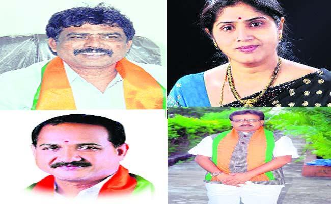 BJP MLA Candidate List Is Ready In Adilabad - Sakshi
