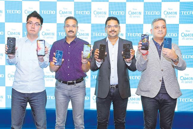 TECNO Mobile launches 3 affordable smartphones - Sakshi
