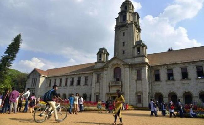 IIsc Bangalore Gets Top Position In The Country - Sakshi