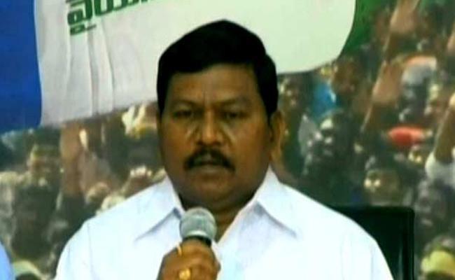 YSRCP MLA Rajanna Dora Fires On Chandrababu Naidu - Sakshi