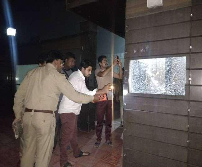 Meerut SHOCKER: BJP MLA Sangeet Som Residence Attacked With Bullets And Grenade - Sakshi