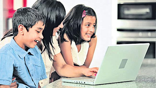 Grow marks if screen time slows down - Sakshi