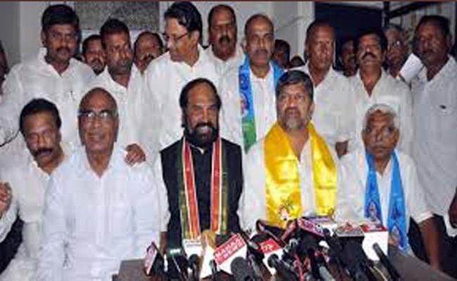 Opposition Leaders Form A Meeting And Slams TRS Party - Sakshi