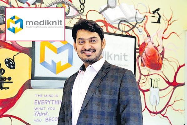 New startup diary mediknit - Sakshi