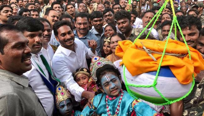 May Lord Krishna blessings bring you everything you desire for, Tweets YS Jagan Mohan Reddy - Sakshi