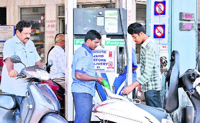 Petrol Price Increase Daily In AP - Sakshi