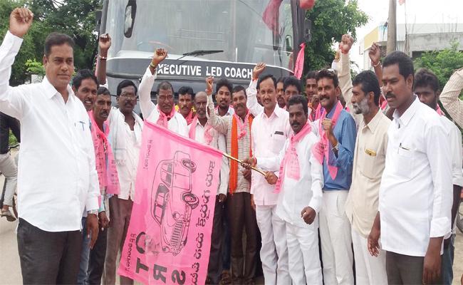 Pragathi Nivedana Sabha MLAS MPS Adilabad - Sakshi