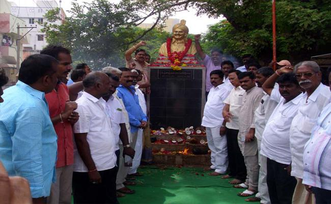 YS Rajasekhara Reddy Death Anniversary  Tributes In Nellore - Sakshi