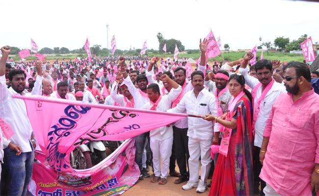 Pragathi Nivedana Sabha Nalgonda Peoples - Sakshi