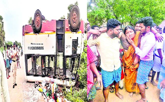 Road Accident In Nellore - Sakshi