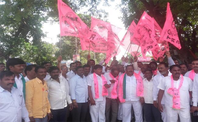 Pragathi Nivedana Sabha TRS Leaders Nizamabad - Sakshi