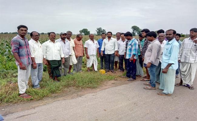 Green Highway Roads  Farmers  Nizamabad - Sakshi
