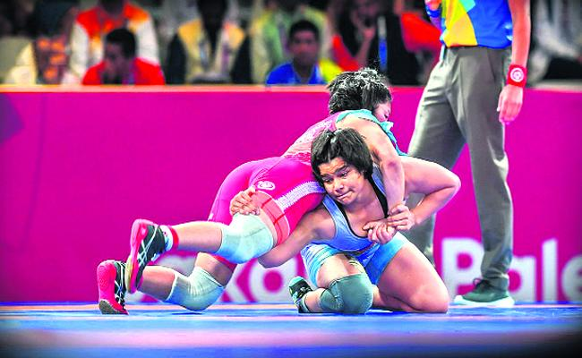 Indian Girls Shines In Asian Games 2018 - Sakshi