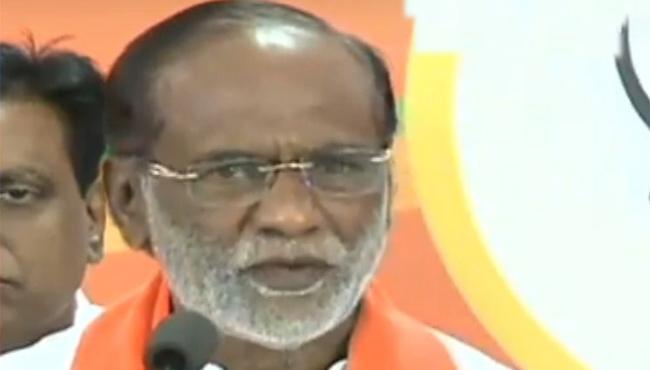 Bjp Laxman Criticized Pragathi Nivedana sabha - Sakshi