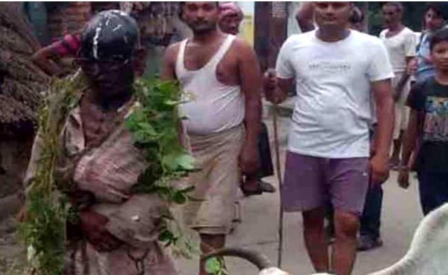 Hindu Man Was Thrashed By Cow Vigilantes - Sakshi