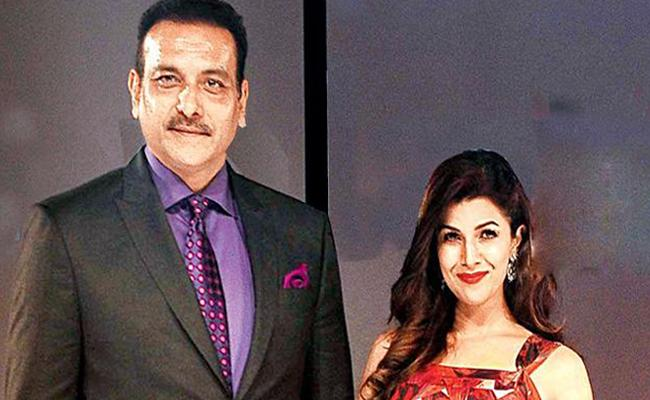 Is Nimrat Kaur dating Indian cricket team coach Ravi Shastri? - Sakshi