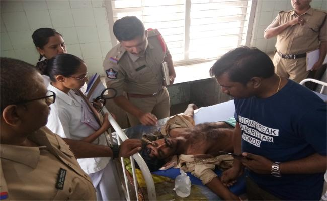 Tortured On Young Man In Anantapur - Sakshi