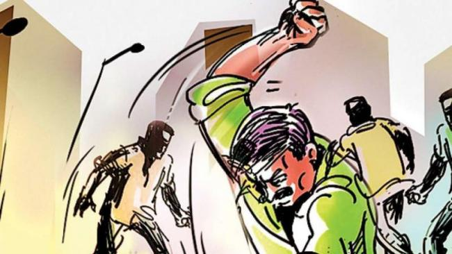 Mans Arms Chopped Off With Sword After Fight Over Missing Cows - Sakshi