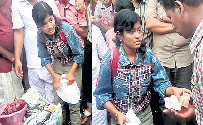 Kerala Courageous Girl Hanan Hamid Met With Accident - Sakshi