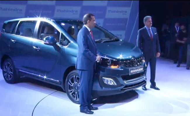New Mahindra Marazzo MPV India Launch - Sakshi
