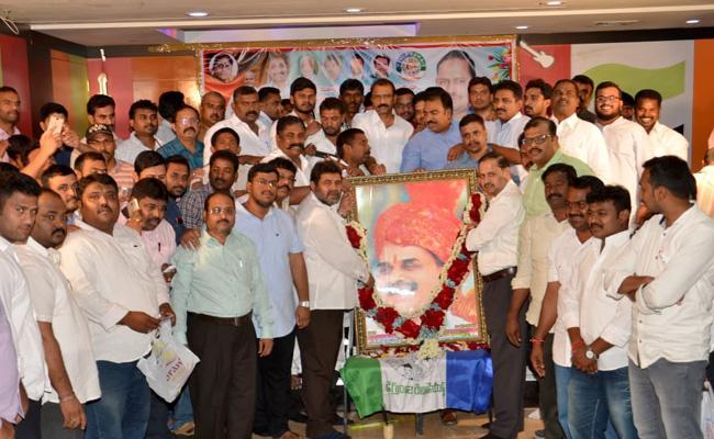 Kuwait NRIs Pays Tribute To YS Rajasekhara Reddy - Sakshi