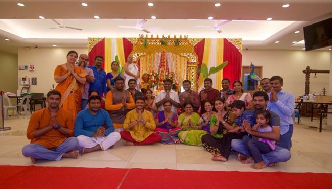 Sri Sitha Ramula Kalyanam in Singapore - Sakshi