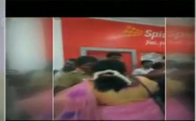 Woman Arrested For Raising Anti-BJP Slogan At Tamil Nadu Chief On Plane - Sakshi