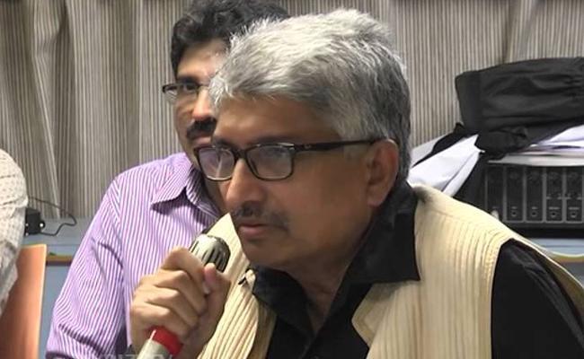 TUWJ Protest At Delhi On Journalists Death - Sakshi