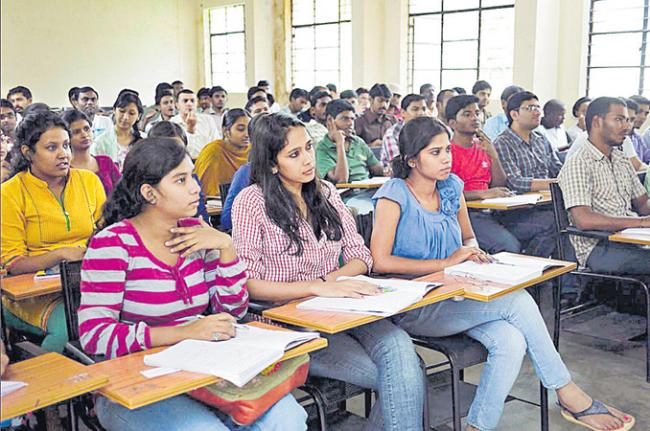 Huge changes in higher education - Sakshi