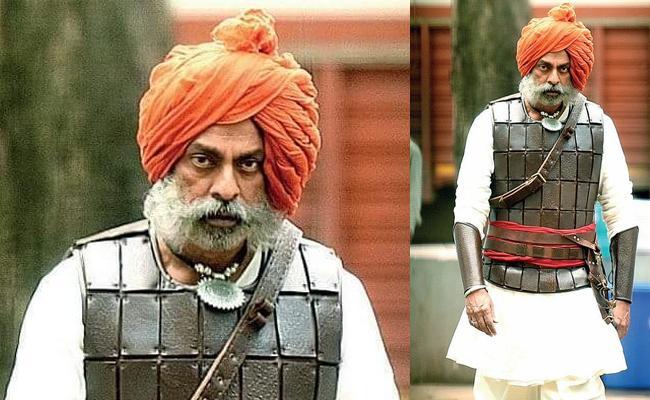 Jagapathi Babu look In Bollywood Film Tanaji - Sakshi