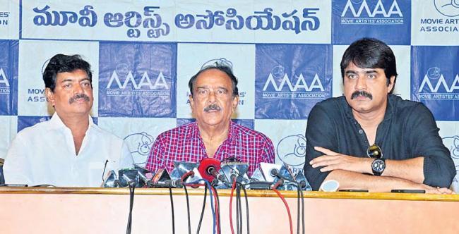 Sivaji Raja Emotional Speech About Controversies in MAA - Sakshi