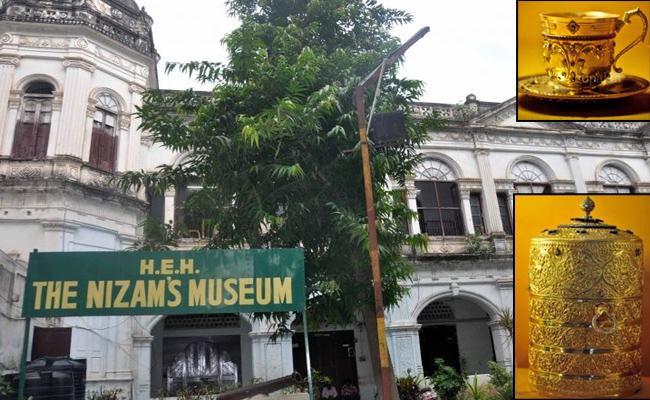 Police Conducting internal investigation on Nizam museum case - Sakshi